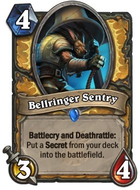 Hearthstone The Witchwood Bellringer Sentry