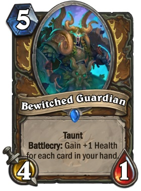 Hearthstone The Witchwood Bewitched Guardian