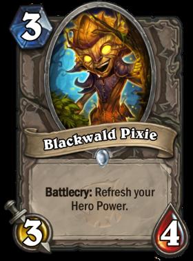 Hearthstone The Witchwood Blackwald Pixie