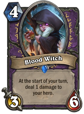 Hearthstone The Witchwood Blood Witch