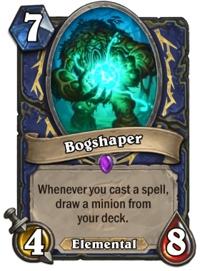 Hearthstone The Witchwood Bogshaper