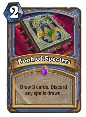 Hearthstone The Witchwood Book of Specters