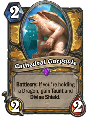 Hearthstone The Witchwood Cathedral Gargoyle