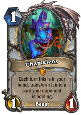 Hearthstone The Witchwood Chameleos