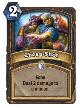 Hearthstone The Witchwood Cheapshot
