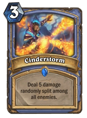 Hearthstone The Witchwood Cinderstorm
