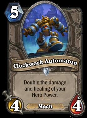 Hearthstone The Witchwood Clockwork Automaton