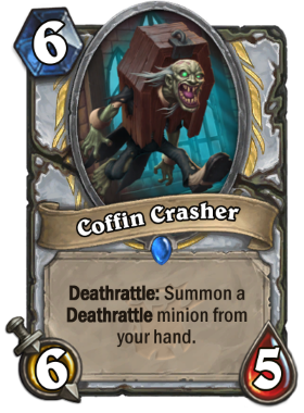 Hearthstone The Witchwood Coffin Crasher