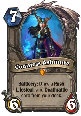 Hearthstone The Witchwood Countess Ashmore