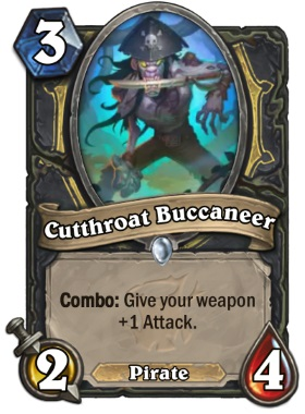 Hearthstone The Witchwood Cutthroat Buccaneer