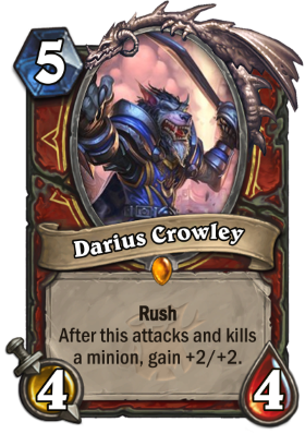Hearthstone The Witchwood Darius Crowley
