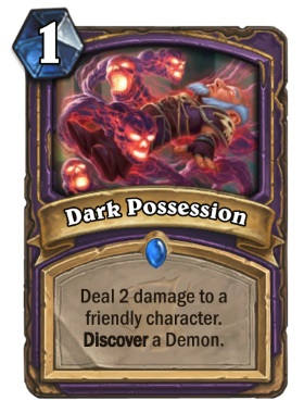 Hearthstone The Witchwood Dark Possession
