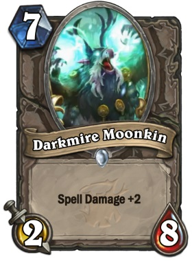 Hearthstone The Witchwood Darkmire Moonkin