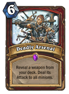 Hearthstone The Witchwood Deadly Arsenal