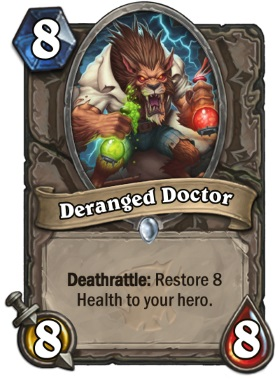 Hearthstone The Witchwood Deranged Doctor
