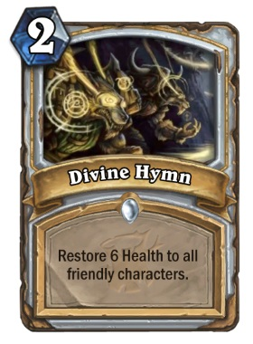 Hearthstone The Witchwood Divine Hymn