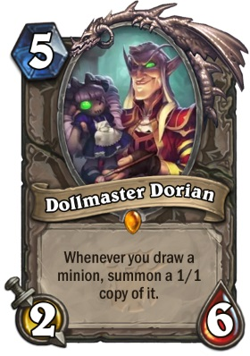 Hearthstone The Witchwood Dollmaster Dorian