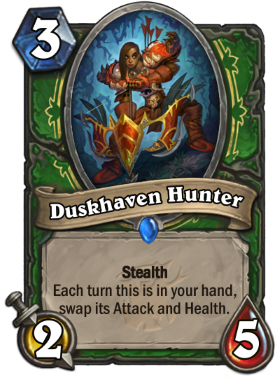 Hearthstone The Witchwood Duskhaven Hunter