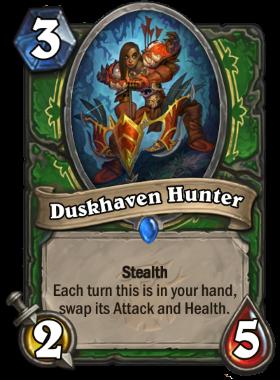 Hearthstone The Witchwood Duskhaven Hunter