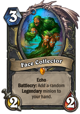 Hearthstone The Witchwood Face Collector