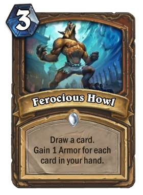 Hearthstone The Witchwood Ferocious Howl