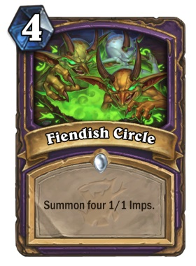 Hearthstone The Witchwood Fiendish Circle