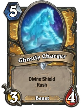 Hearthstone The Witchwood Ghostly Charger