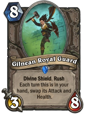 Hearthstone The Witchwood Gilnean Royal Guard