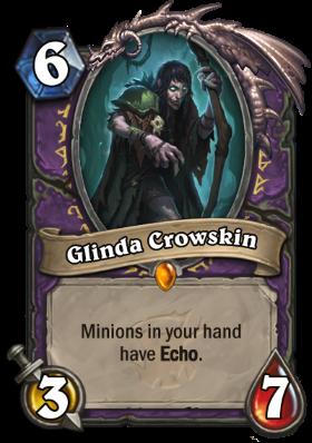 Hearthstone The Witchwood Glinda Crowskin