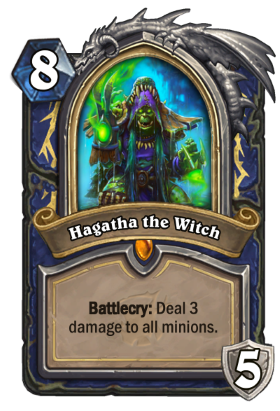 Hearthstone The Witchwood Hagatha the Witch