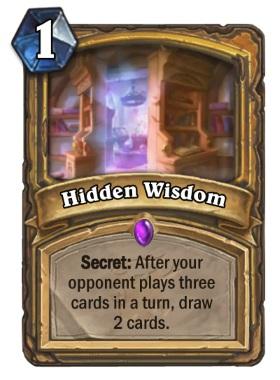 Hearthstone The Witchwood Hidden Wisdom