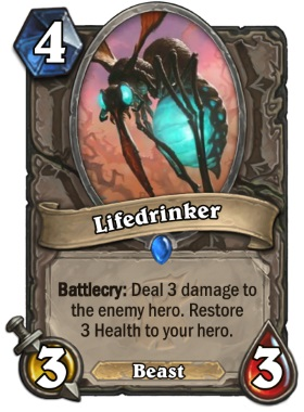 Hearthstone The Witchwood Lifedrinker