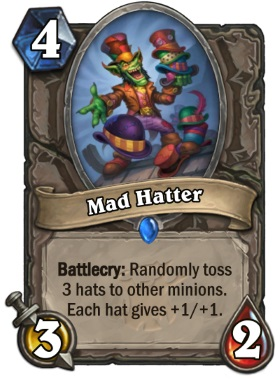 Hearthstone The Witchwood Mad Hatter