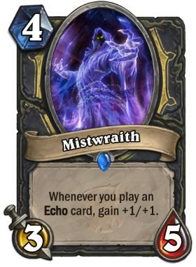 Hearthstone The Witchwood Mistwraith