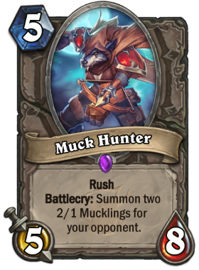 Hearthstone The Witchwood Muck Hunter