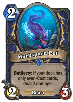 Hearthstone The Witchwood Murkspark Eel