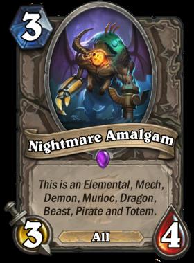 Hearthstone The Witchwood Nightmare Amalgam