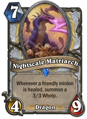 Hearthstone The Witchwood Nightscale Matriarch