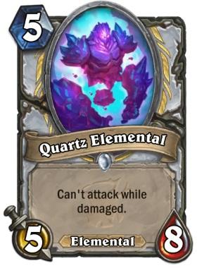 Hearthstone The Witchwood Quartz Elemental