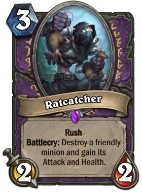 Hearthstone The Witchwood Ratcatcher