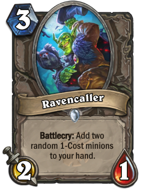 Hearthstone The Witchwood Ravencaller