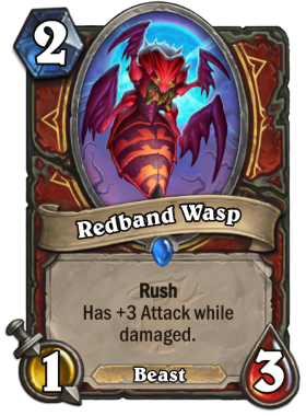 Hearthstone The Witchwood Redband Wasp