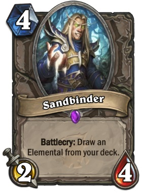 Hearthstone The Witchwood Sandbinder