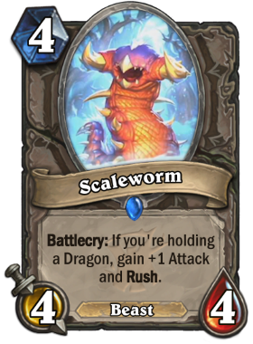 Hearthstone The Witchwood Scaleworm