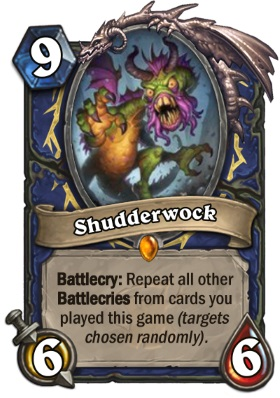 Hearthstone The Witchwood Shudderwock