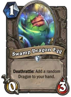 Hearthstone The Witchwood Swamp Dragon Egg