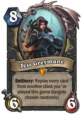 Hearthstone The Witchwood Tess Greymane