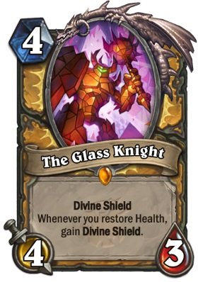 Hearthstone The Witchwood The Glass Knight