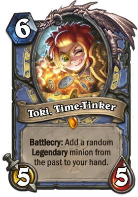 Hearthstone The Witchwood Toki, Time-Tinker