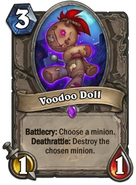 Hearthstone The Witchwood Voodoo Doll